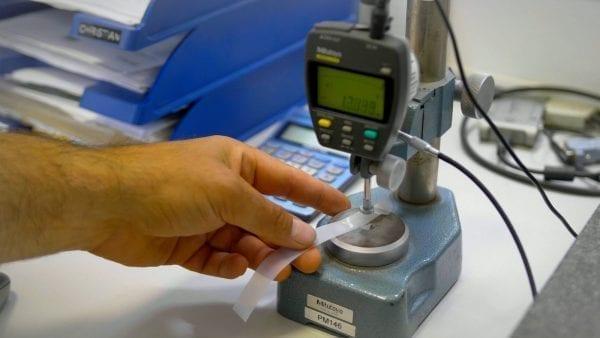 Mätning av plastfilm